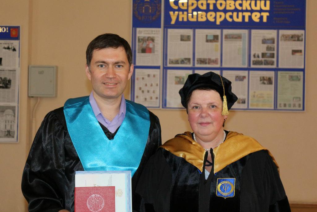Сергей Левит и М.М. Орлова
